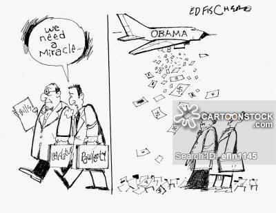 700 Billion News and Political Cartoons