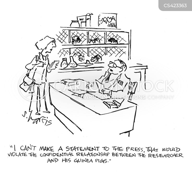 Confidentiality Agreements Cartoons and Comics - funny pictures from