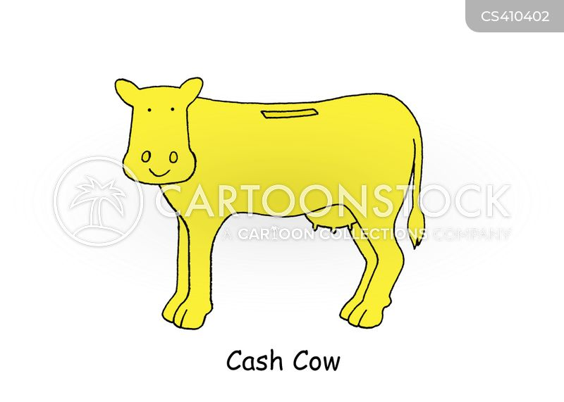 Cash Cow Cartoons And Comics Funny Pictures From