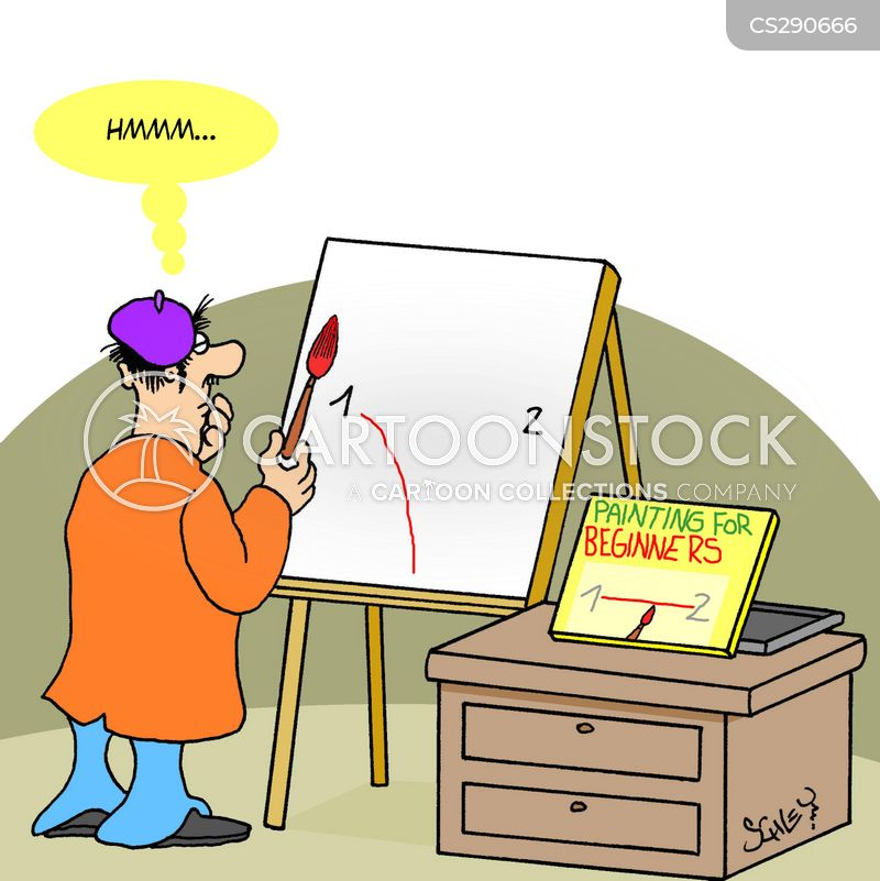Artistic Skills Cartoons and Comics - funny pictures from CartoonStock