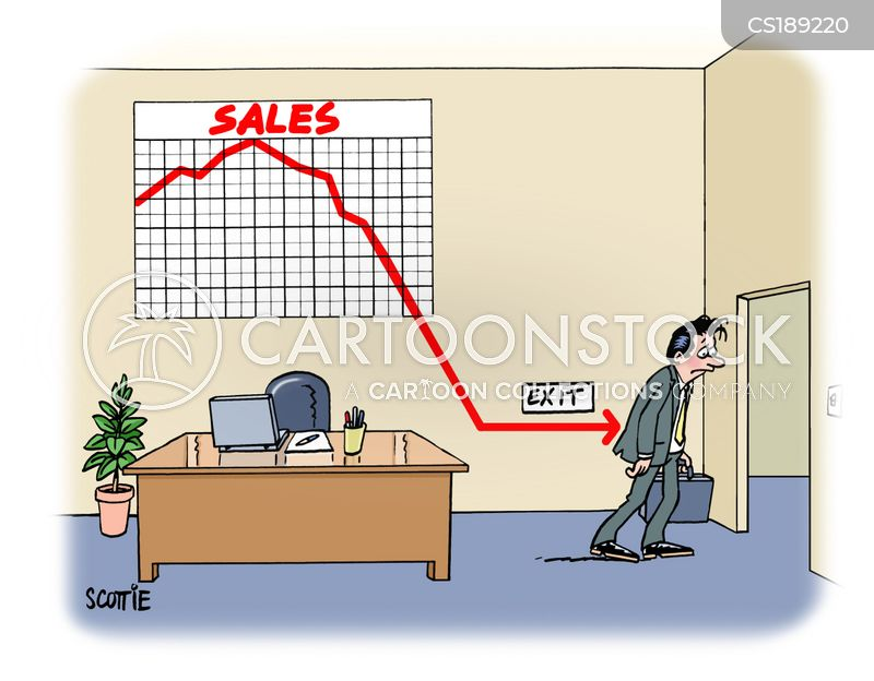 Sales Graph Cartoons and Comics - funny pictures from CartoonStock - Sale Chart