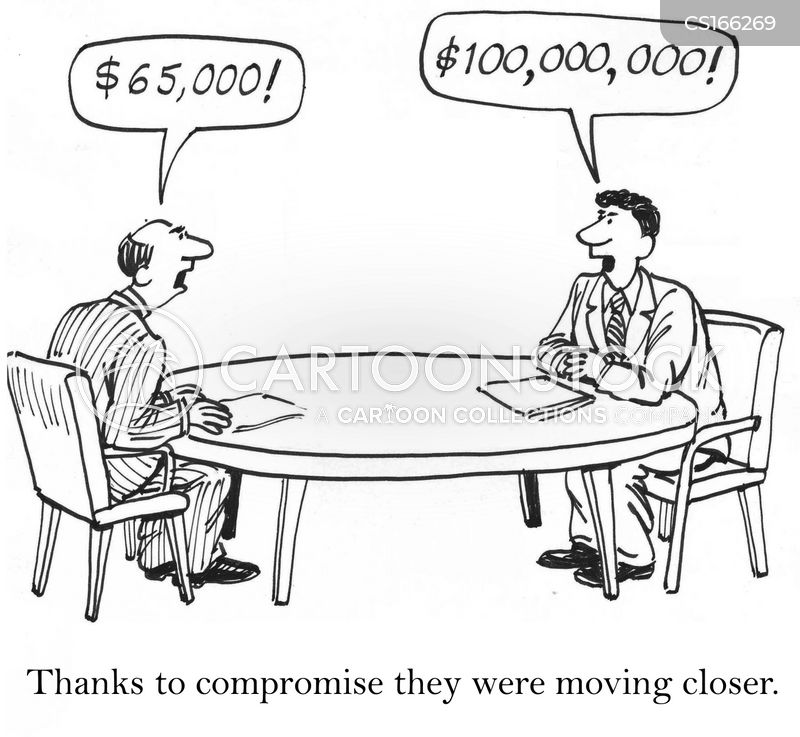 Compromise Cartoons and Comics - funny pictures from CartoonStock