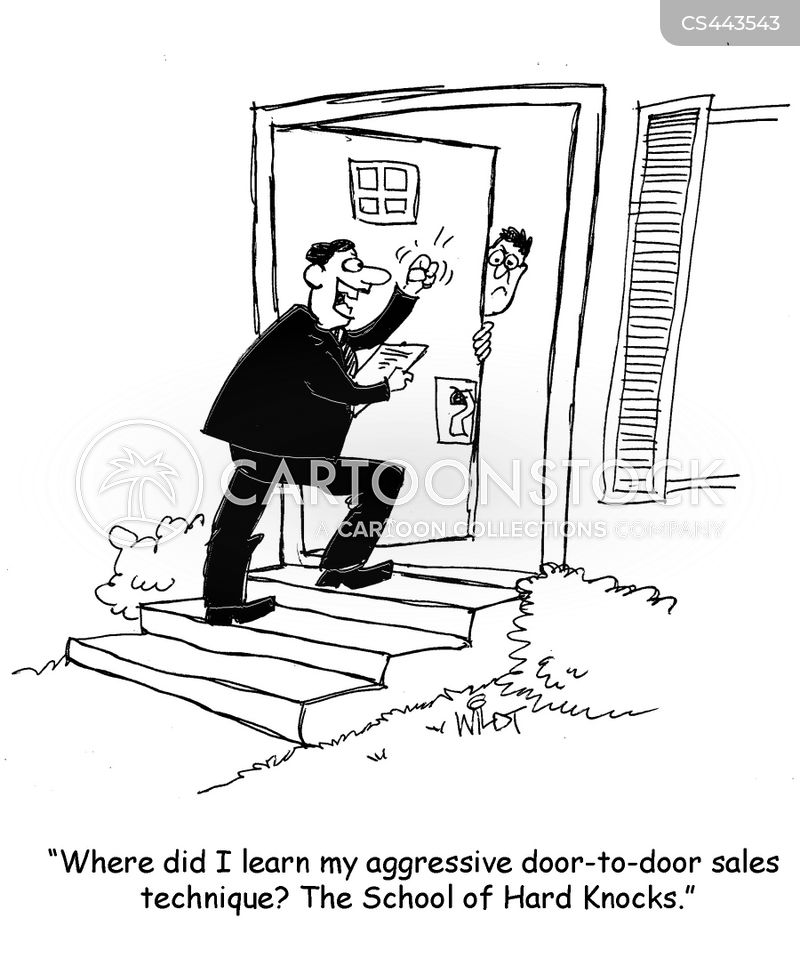 Sales Technique Cartoons and Comics - funny pictures from CartoonStock
