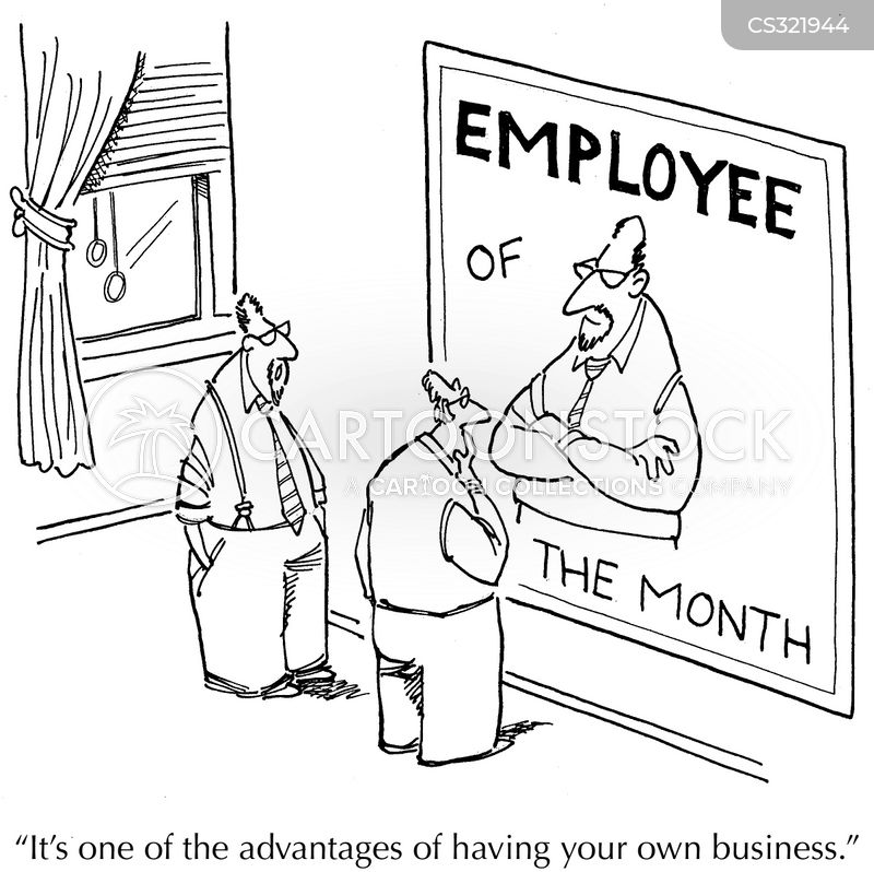 Employees Of The Month Cartoons and Comics - funny pictures from
