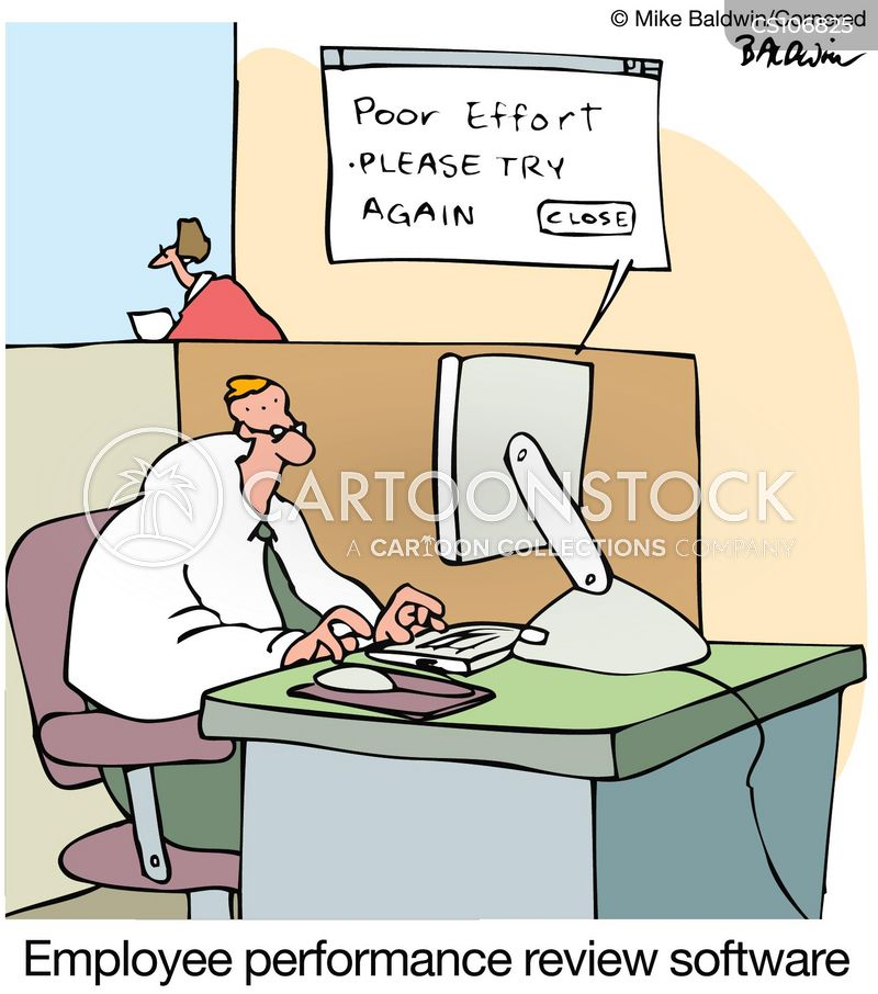 Employee Performance Review Cartoons and Comics - funny pictures - performance reviews