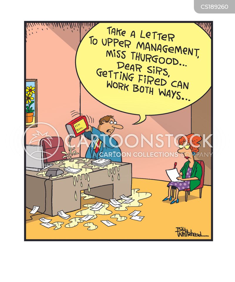 Resignation Letters Cartoons and Comics - funny pictures from