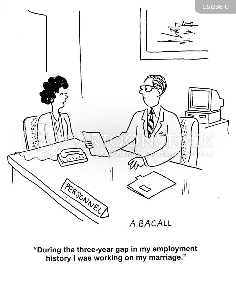 Employment Gap Cartoons and Comics - funny pictures from CartoonStock - gap in employment