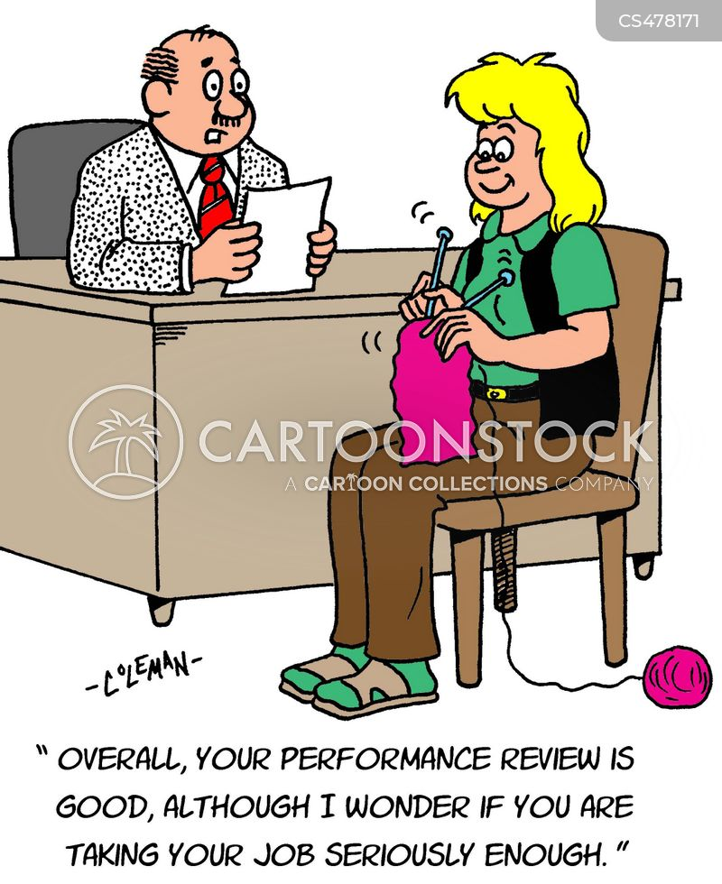 Employee Review Cartoons and Comics - funny pictures from CartoonStock