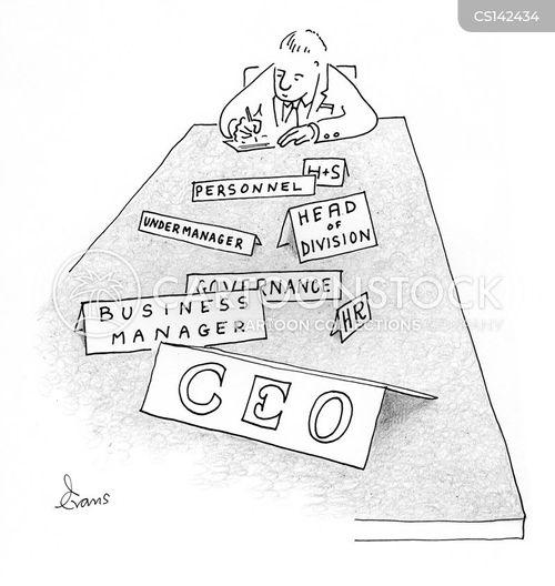 Job Description Cartoons and Comics - funny pictures from CartoonStock - ceo job description