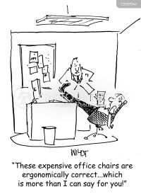 Office Chair Cartoons and Comics - funny pictures from ...