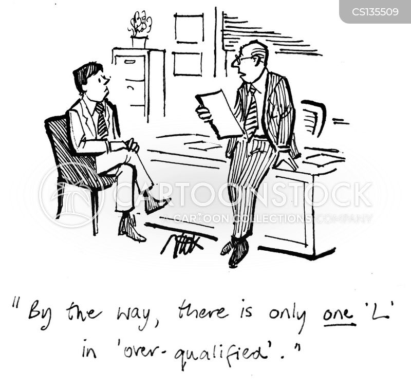 Over Qualification Cartoons and Comics - funny pictures from - overqualified for the job