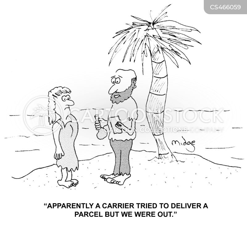 Missed Delivery Cartoons and Comics - funny pictures from CartoonStock