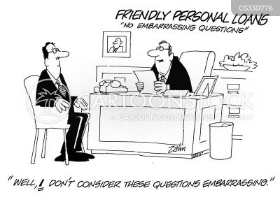 Personal Loan Cartoons and Comics - funny pictures from CartoonStock