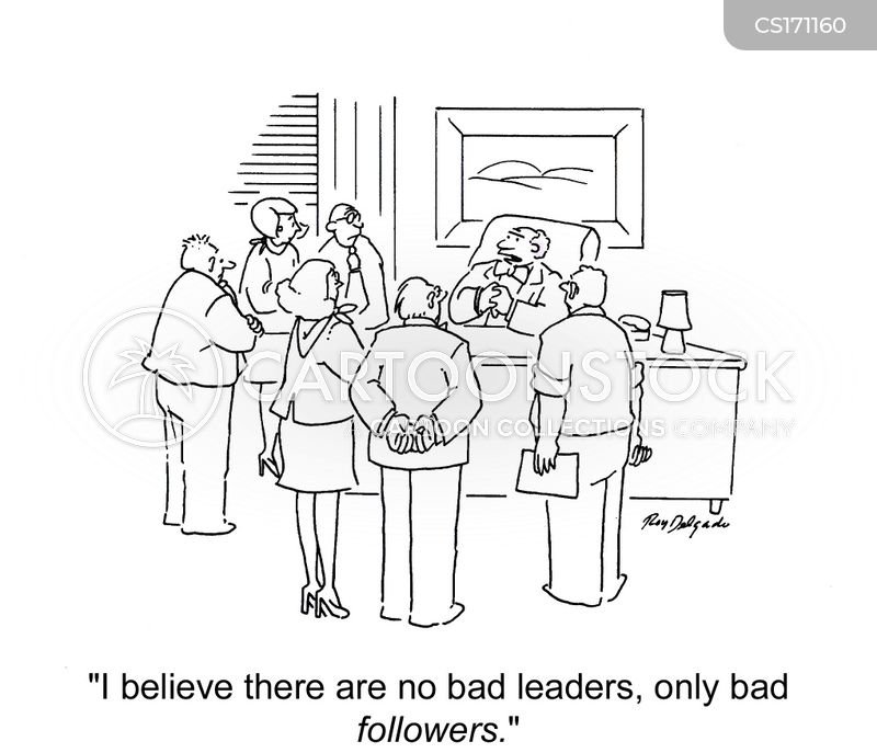 Leadership Skills Cartoons and Comics - funny pictures from CartoonStock