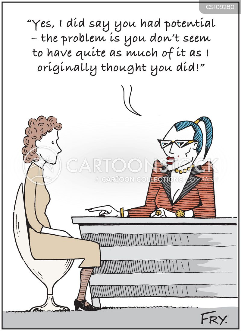 Employee Assessments Cartoons and Comics - funny pictures from