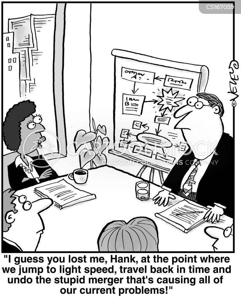 Corps Cartoons and Comics - funny pictures from CartoonStock - business plans