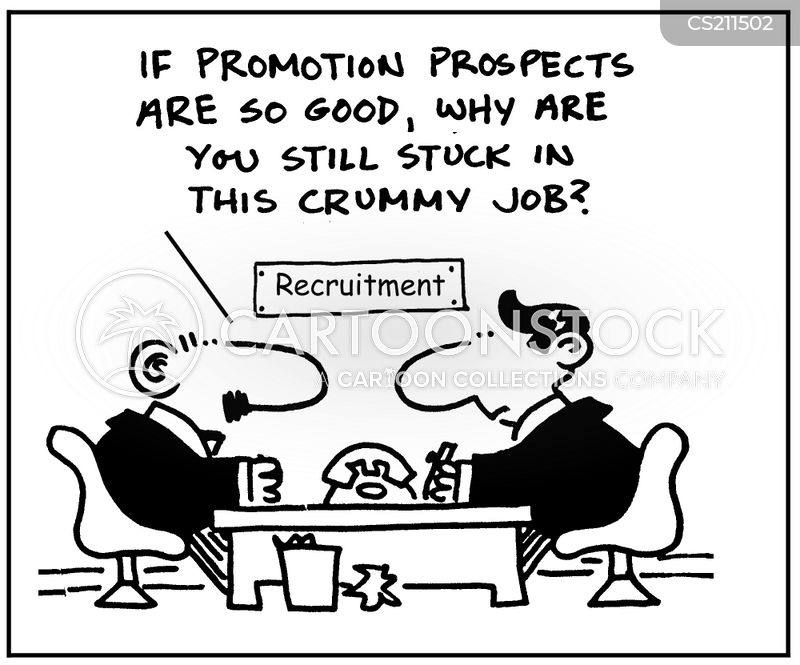 Promotion Prospects Cartoons and Comics - funny pictures from