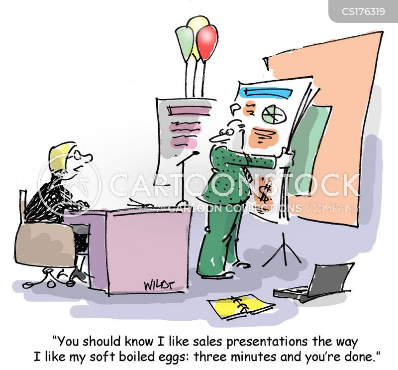 Sales Presentation Cartoons and Comics - funny pictures from