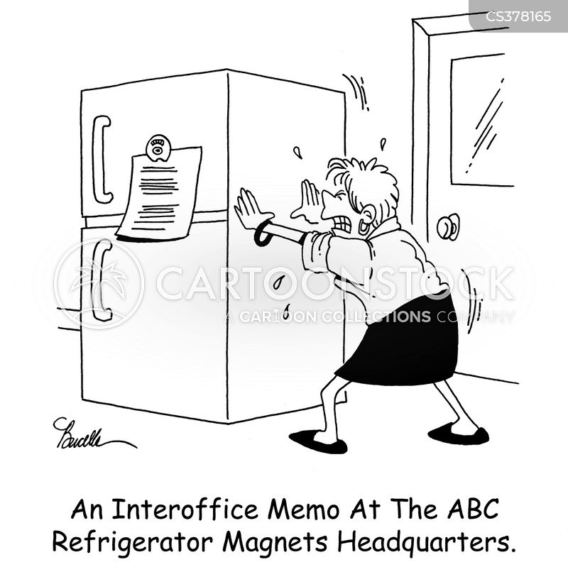 Interoffice Memo Cartoons and Comics - funny pictures from CartoonStock