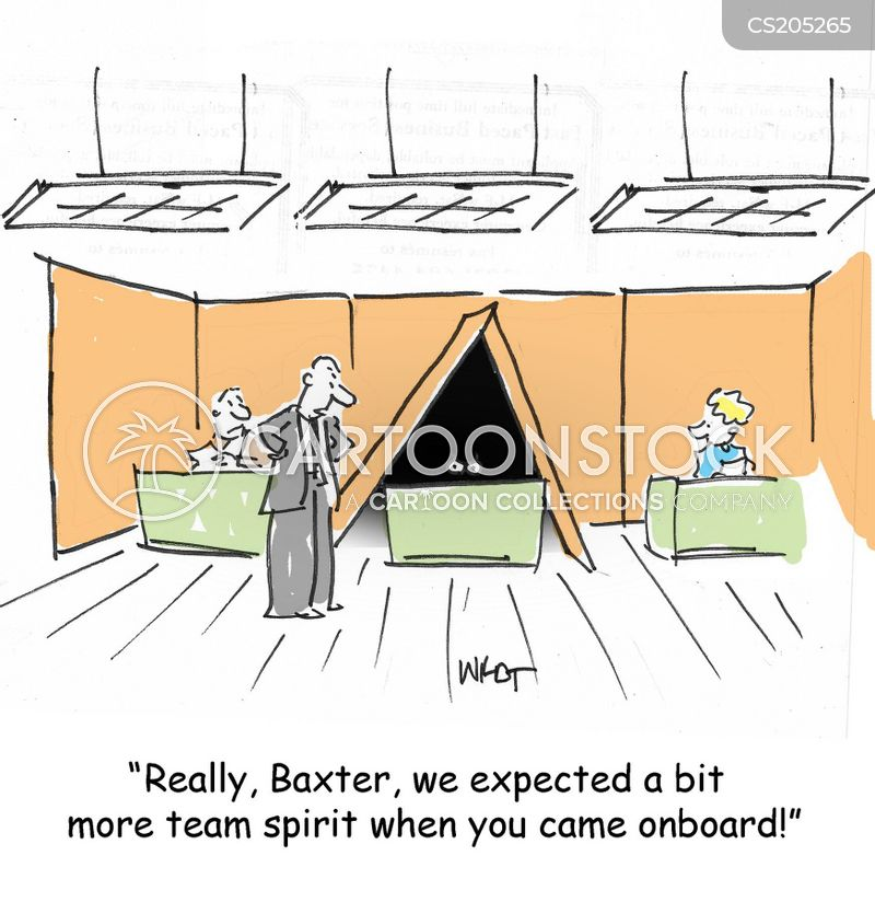Team Spirited Cartoons and Comics - funny pictures from CartoonStock
