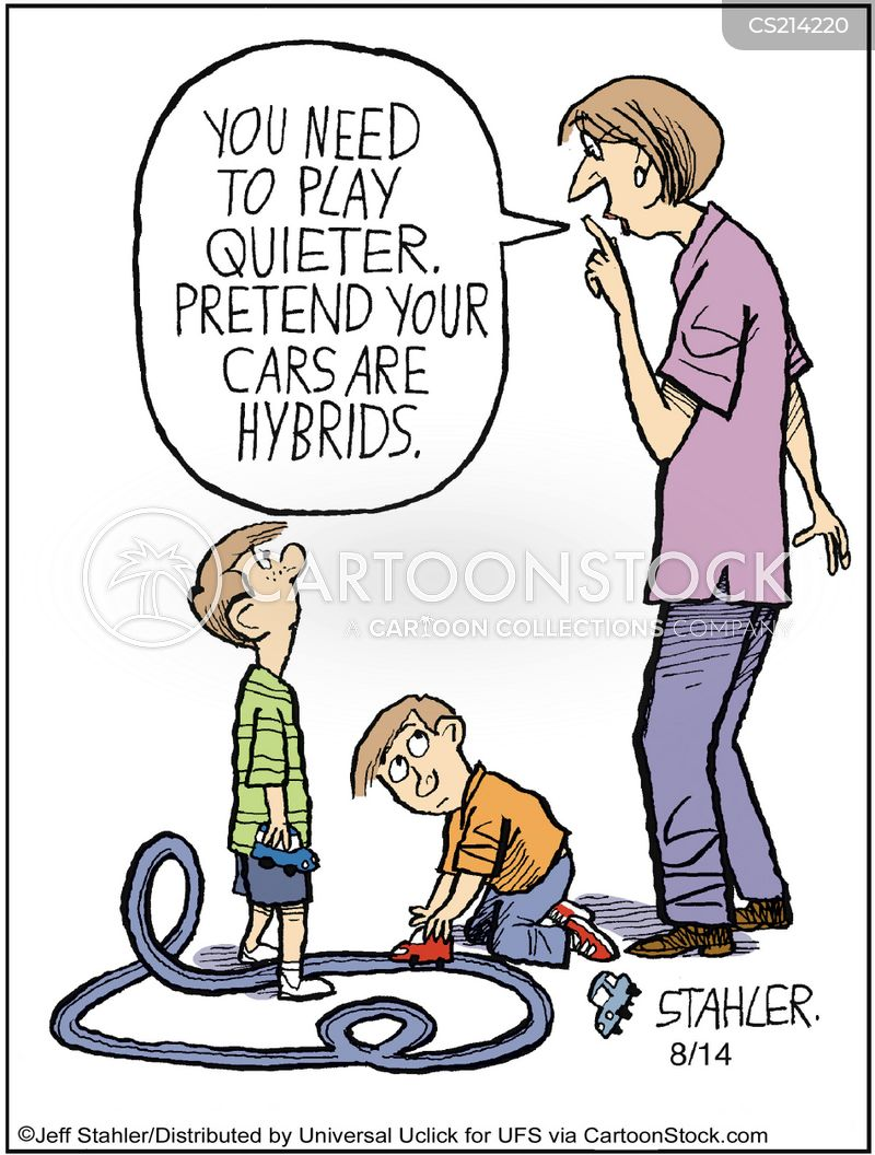 Children Playing Cartoons and Comics - funny pictures from CartoonStock - cartoon children play