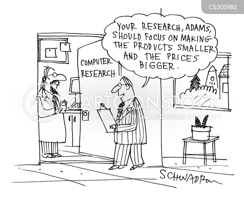 Computer Research Cartoons and Comics - funny pictures from CartoonStock