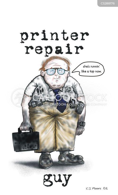 printer technician