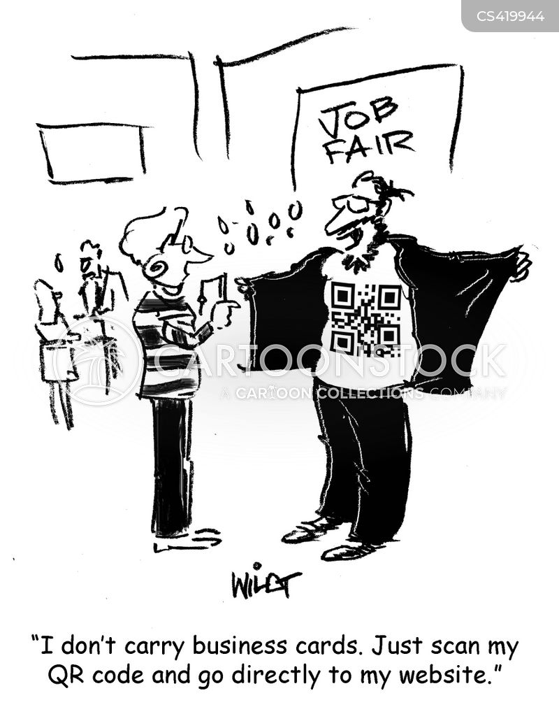 Business Card Cartoons and Comics - funny pictures from CartoonStock