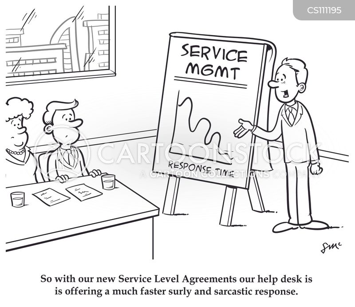 Service Level Agreement Cartoons and Comics - funny pictures from - service level agreement