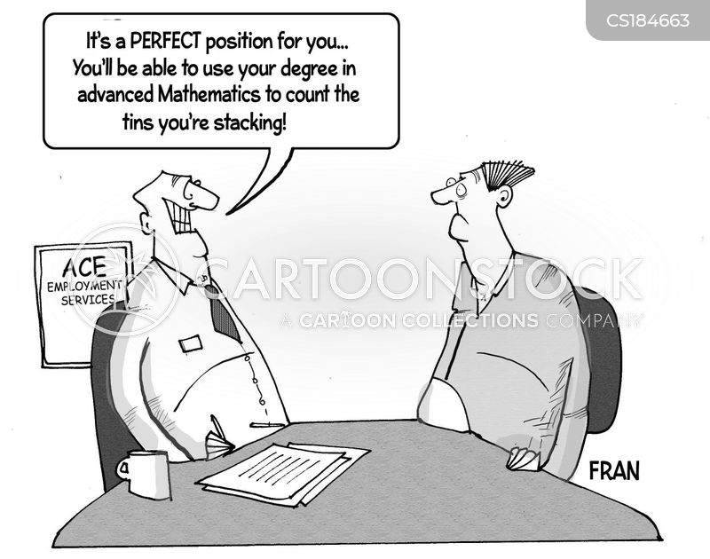 Shelf Stacking Cartoons and Comics - funny pictures from CartoonStock - overqualified for the job