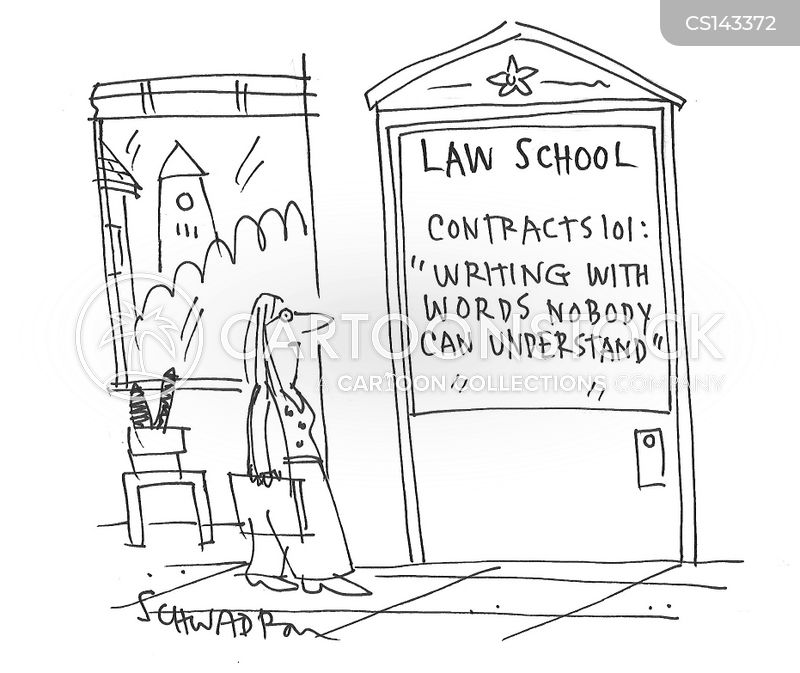 Legal Contract Cartoons and Comics - funny pictures from CartoonStock - legal contract