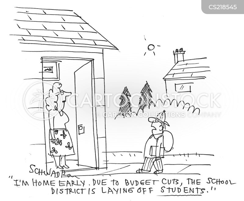 Education Budget Cartoons and Comics - funny pictures from CartoonStock - budgets for students