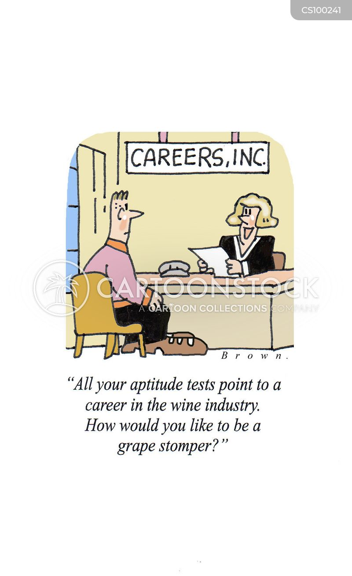 Aptitude Tests Cartoons and Comics - funny pictures from CartoonStock - career aptitude test