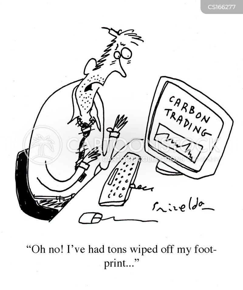 Carbon Trading Cartoons and Comics - funny pictures from CartoonStock