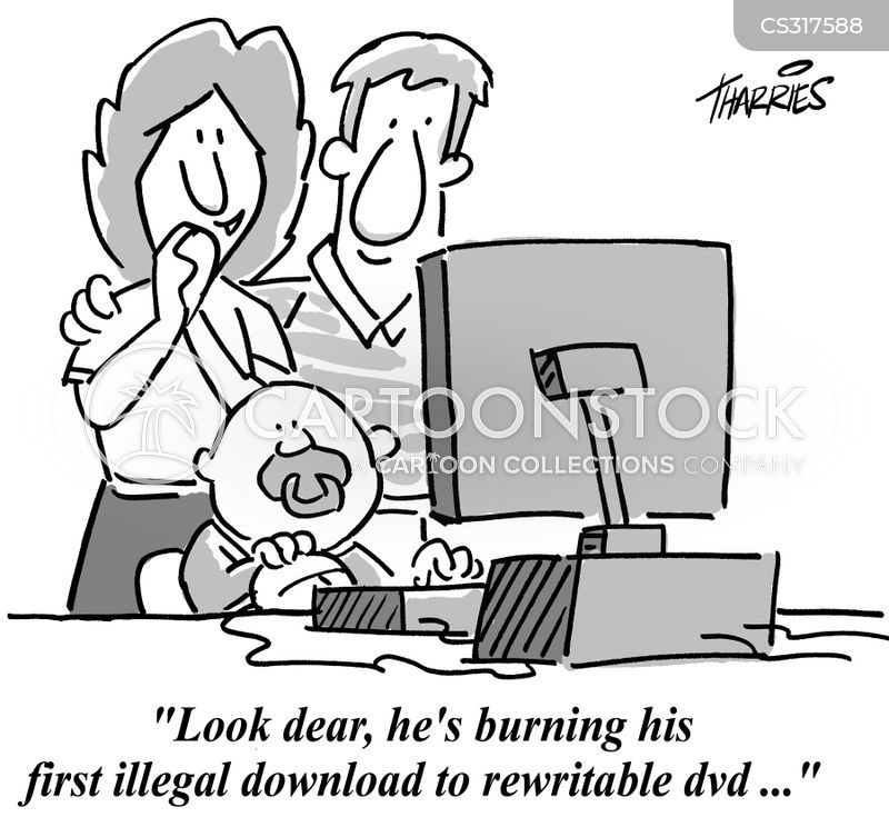 Bittorrent Cartoons and Comics - funny pictures from CartoonStock