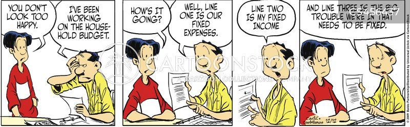 Family Expenses Cartoons and Comics - funny pictures from CartoonStock