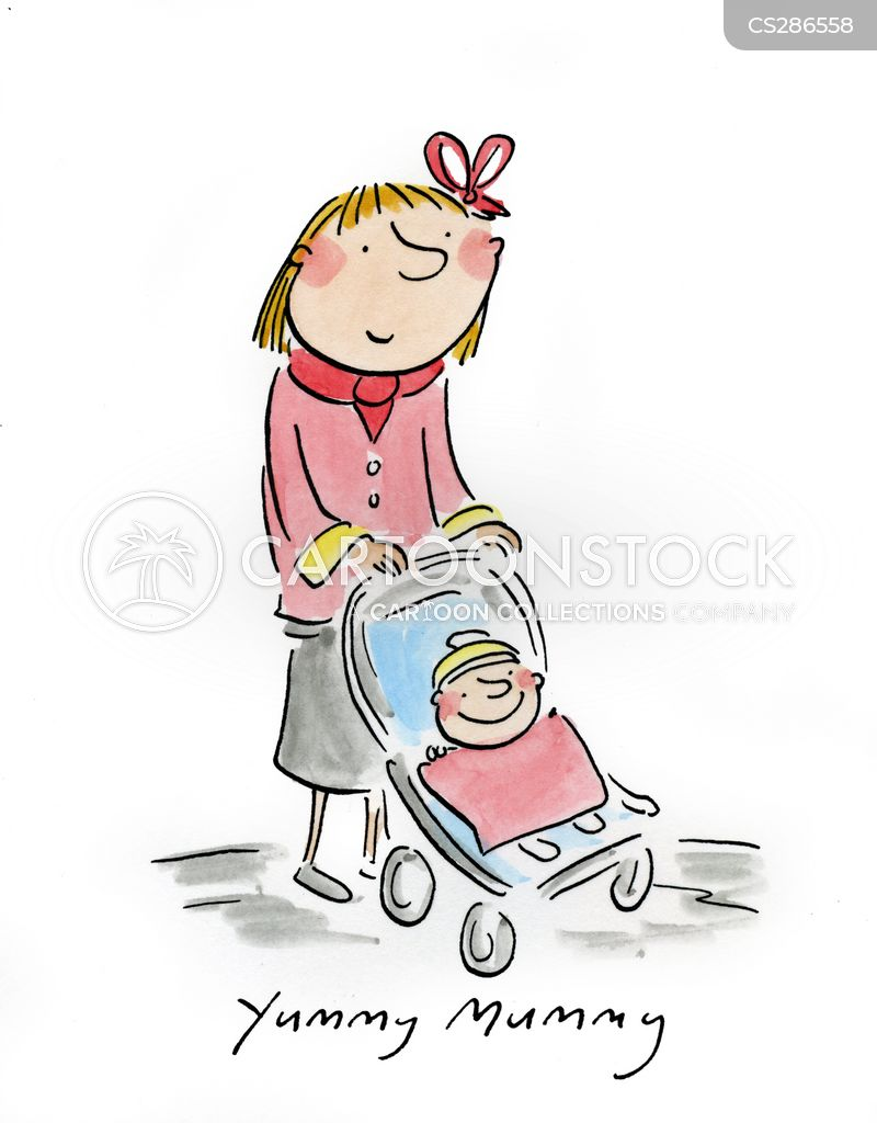 Baby Pram Amazon Young Mums Cartoons And Comics Funny Pictures From