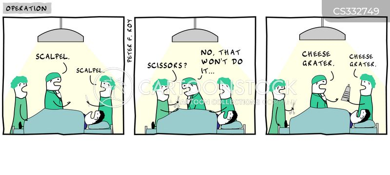 Surgical Nurses Cartoons and Comics - funny pictures from CartoonStock