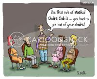 Musical Chair Cartoons and Comics - funny pictures from ...