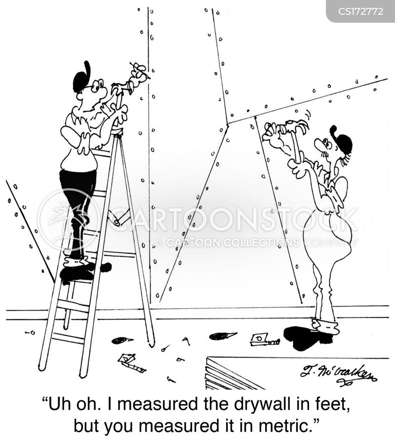 Metric System Cartoons and Comics - funny pictures from CartoonStock