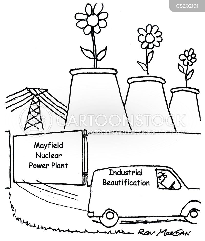 Nuclear Power Plants Cartoons and Comics - funny pictures from