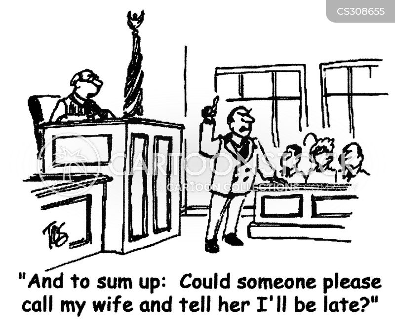 Closing Statements Cartoons and Comics - funny pictures from
