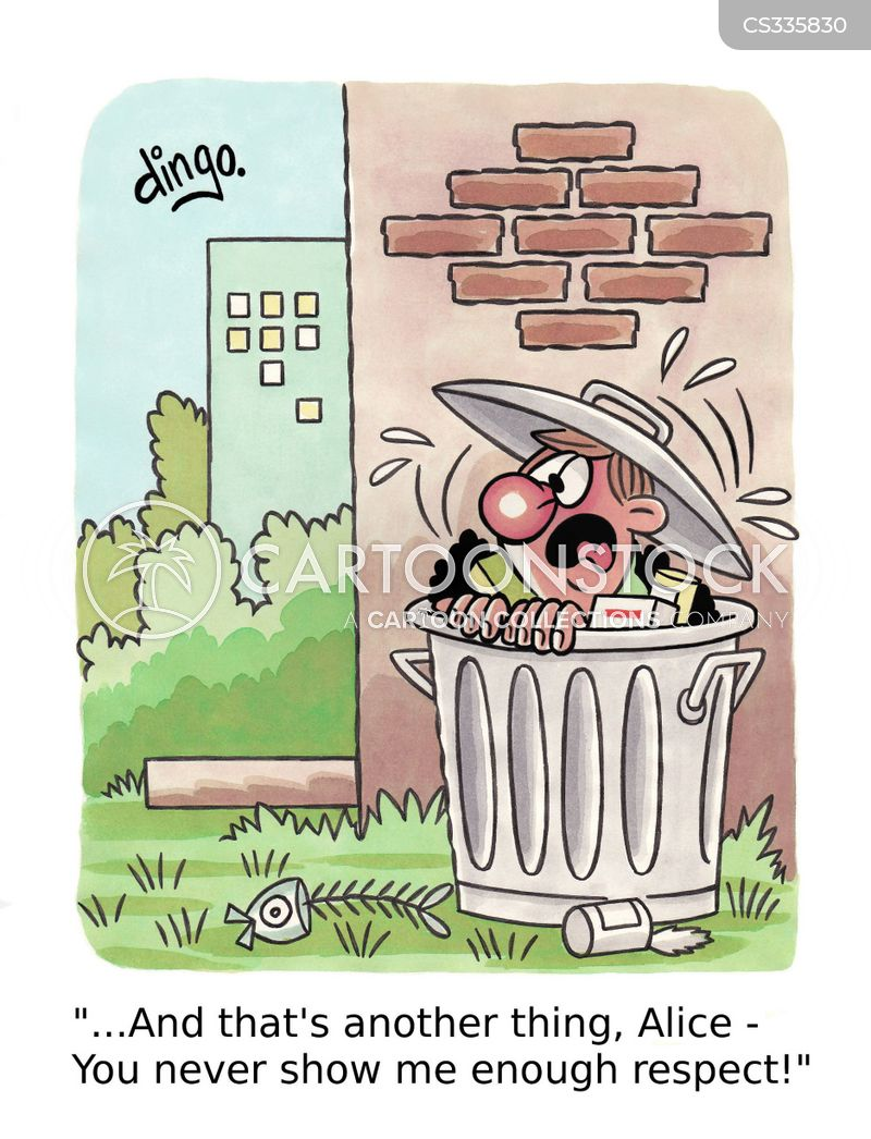 Mülleimer Bad Amazon Garbage Bin Cartoons And Comics - Funny Pictures From