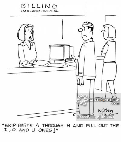 Medical Forms Cartoons and Comics - funny pictures from CartoonStock - medical forms