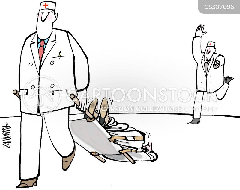Hospital Porter Cartoons and Comics - funny pictures from CartoonStock