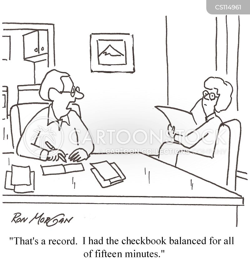 Balancing Checkbooks Cartoons and Comics - funny pictures from