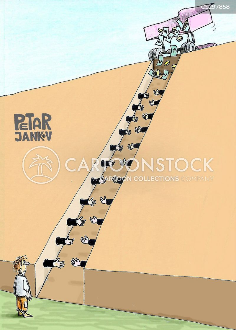 Social Ladders Cartoons and Comics - funny pictures from CartoonStock - the ladders
