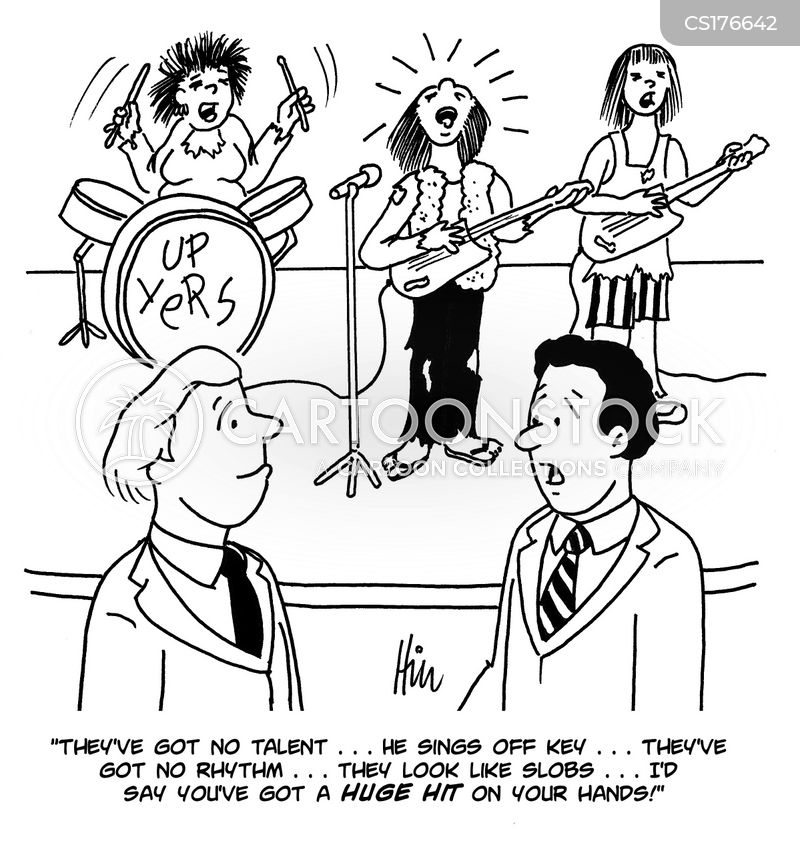 Music Chart Cartoons and Comics - funny pictures from CartoonStock
