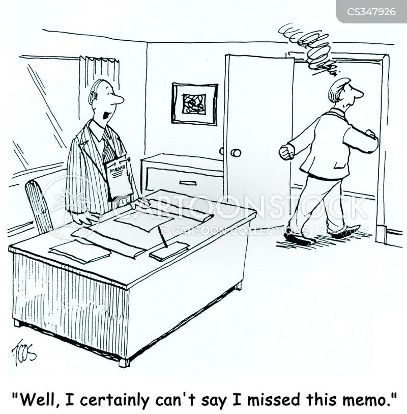 Inter-office Communications Cartoons and Comics - funny pictures