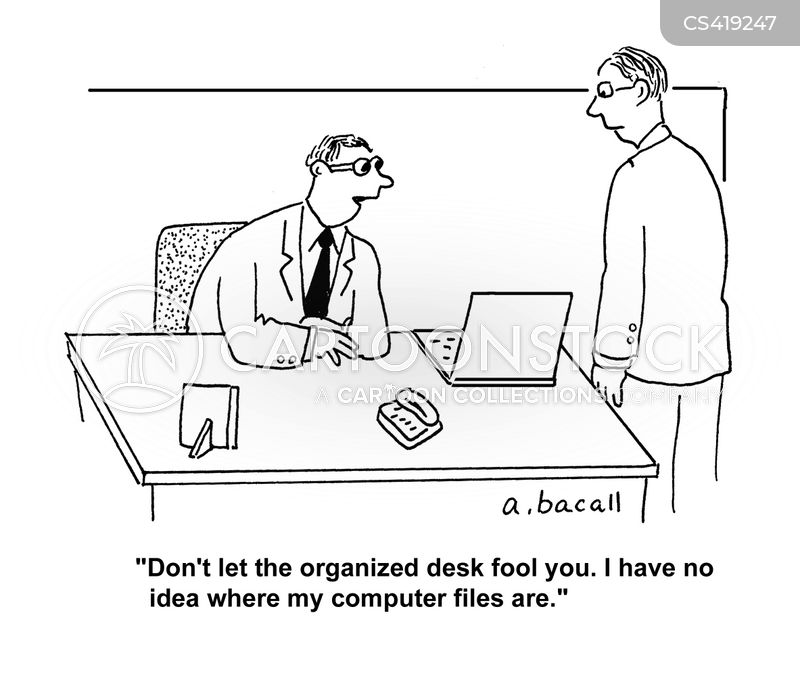 Organizational Skills Cartoons and Comics - funny pictures from